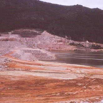 Construction of Lake Bellfield