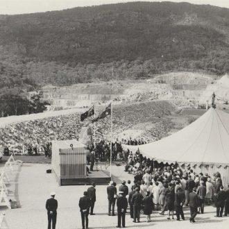 Opening of Lake Bellfield
