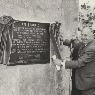 Opening of Lake Bellfield