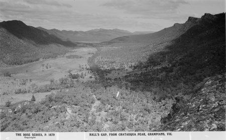Early Halls Gap from Chataqua Peak
