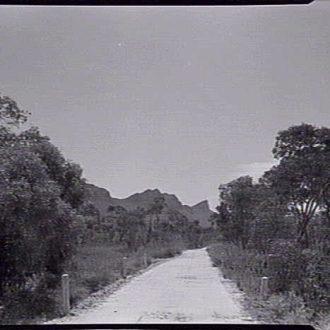 Tourist Road near Wannon River