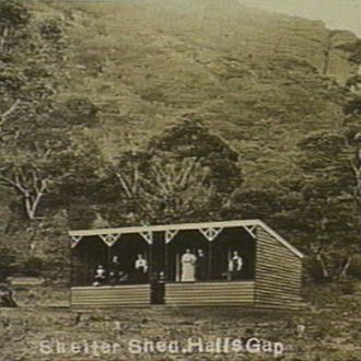 Shelter Shed Halls Gap