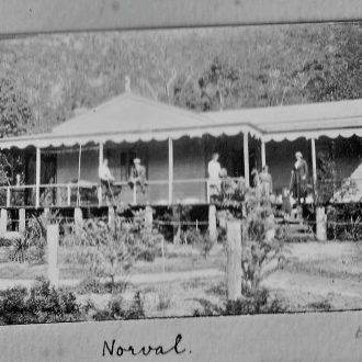 Norval Guest House. 1921 era.