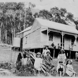 Dalkin family house, Halls Gap. Destroyed in 1939 fires.
