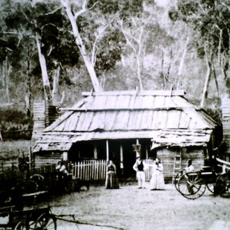 Delley's Inn, Halls Gap. 1870.