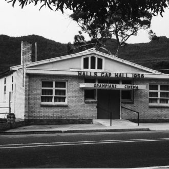 Halls Gap Public Hall opened in 1956.